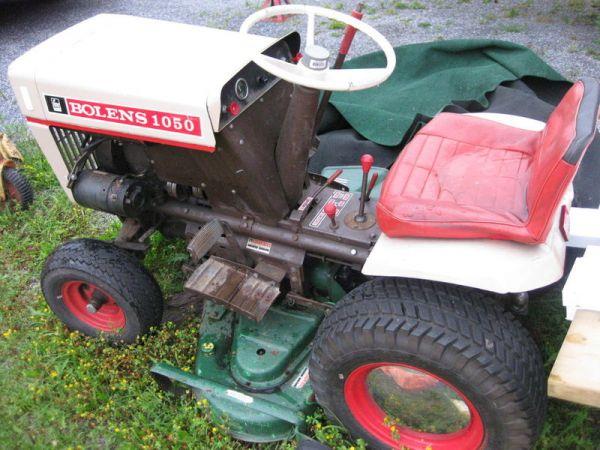 Bolens 1050 Tractor Parts : The bolens project micahgallant